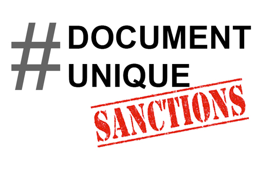 Document-unique-sanctions
